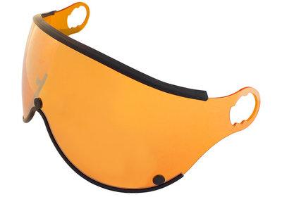 Mango Skihelm Vizier Los - oranje spiegel - cat.2 - (☁/☀) - Voor Mango Cusna & Mango Quota