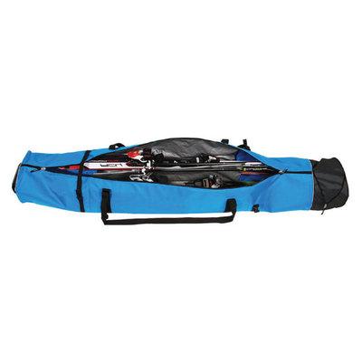 Skitas Corvara Vario Duo - blauw zwart - Voor 2 paar ski's met stokken