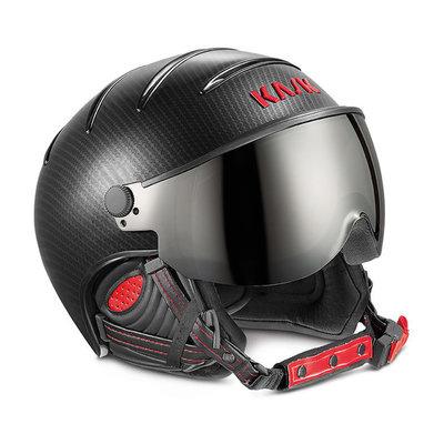 Kask Skihelm met Meekleurend Vizier (☁/❄/☀)- Kask Elite Pro Carbon Zwart