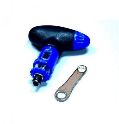 Staz Kleine Tool Blauw Zwart - handig op de piste!
