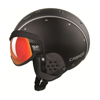 Skihelm  Casco sp-6  - Zwart - photochrom vautron Vizier - cat.1-3(☁/❄)