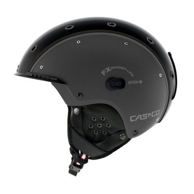 Skihelm  Casco sp-3 airwolf  - gun metal - voor dames & heren