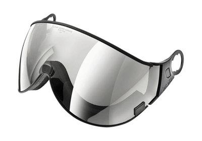 Skihelm Vizier los CP 02 clear silver mirror - cat. 2 (☁/❄/☀) - voor CP camurai & cuma skihelm
