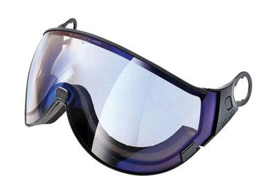 Skihelm Vizier los CP 11 dl meekleurend lens blue mirror - cat. 1-2 (☁/❄/☀) - voor CP camurai & cuma skihelm