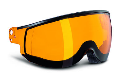 Kask Skihelm Vizier - Kask Piuma Orange - Cat. 2 (☁/☀)