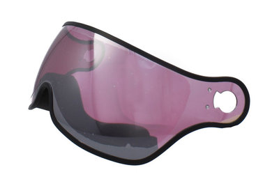Osbe Skihelm Vizier Pink Mirror Cat.2 - Voor Osbe Proton - Rainbow - New Light R