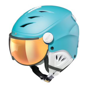 Helm Camulino river blue s.t. white flash gold mirror