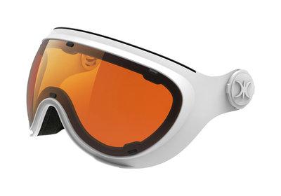 Slokker Skihelm Vizier - Meekleurend Polariserend - Wit Oranje