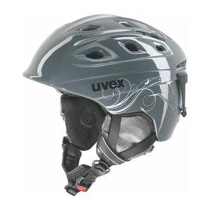 Uvex Skihelm Dames - Uvex funride 2 lady donker zilver